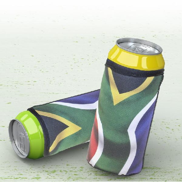Sa Flag Can Cooler 400ml With Sublimation