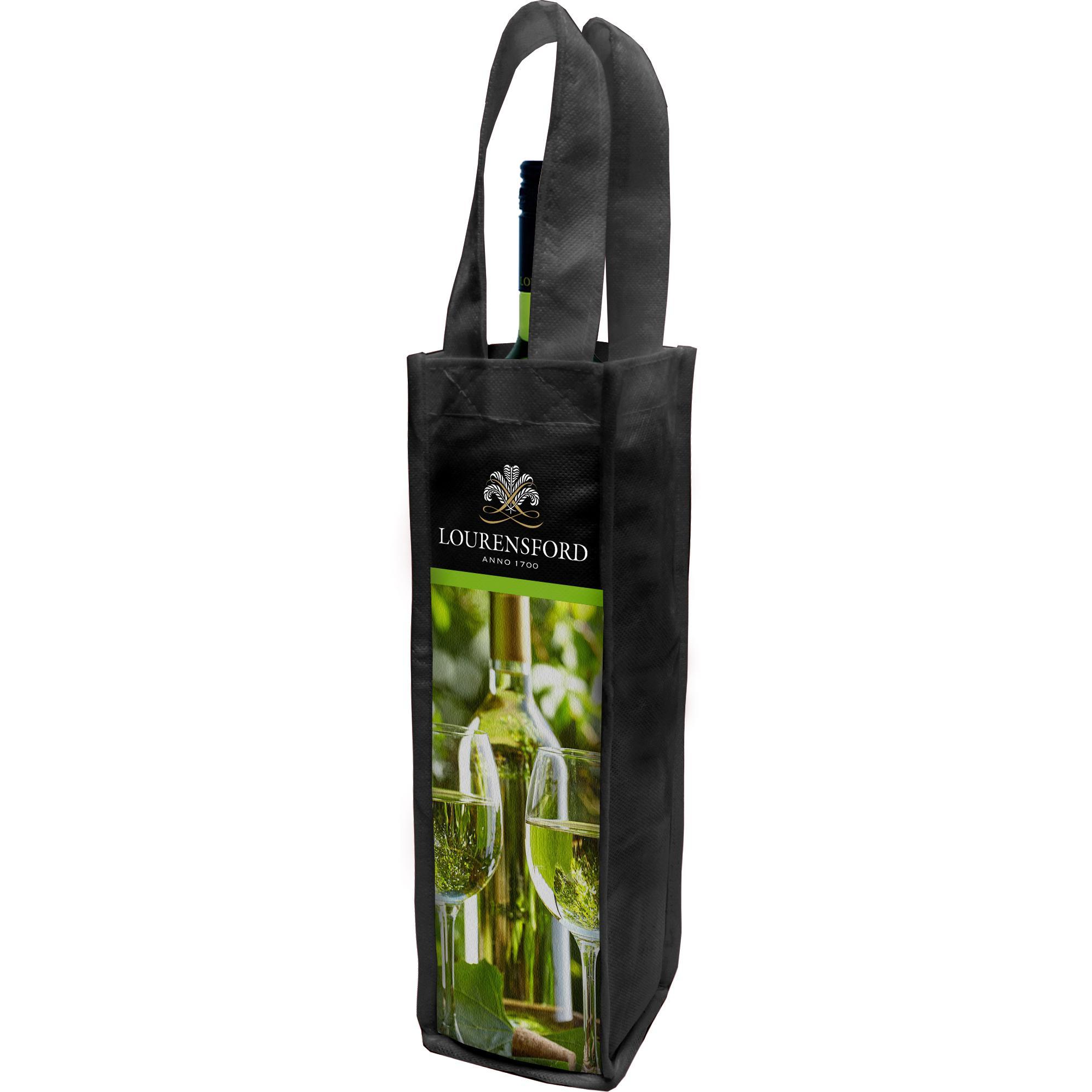 Chianti 1 Bottle Wine Bag With Fc Pocket