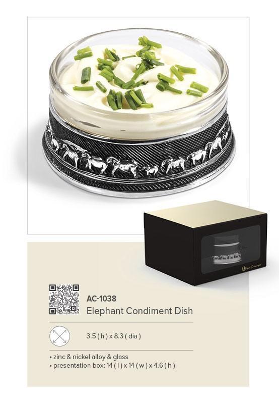 Elephant Condiment Dish