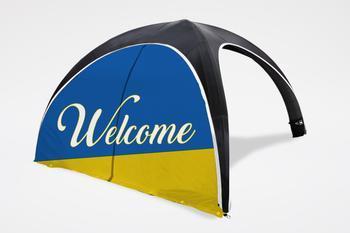 Inflatable Air Tent - Zip Full Door