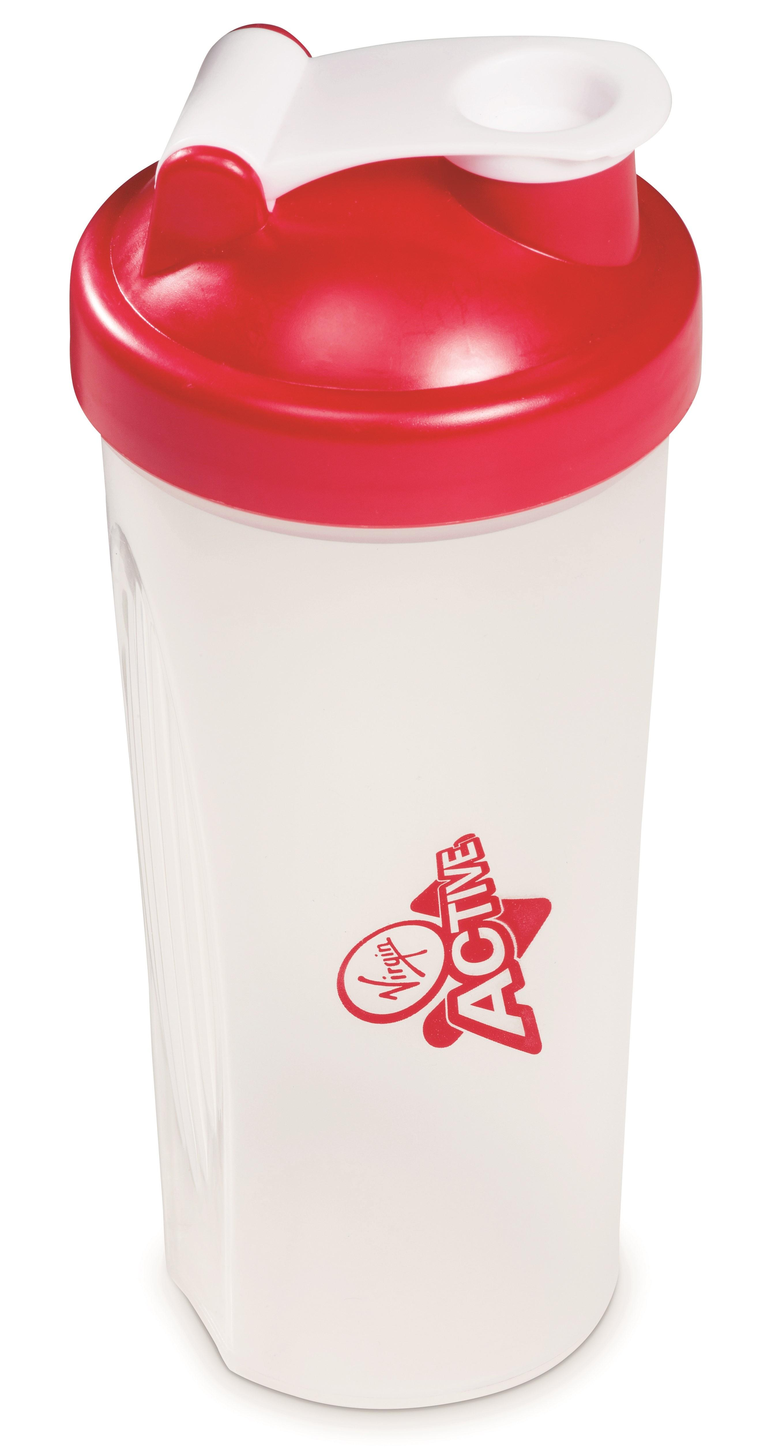 Quaker Protein Shaker - 600ml - Red Only