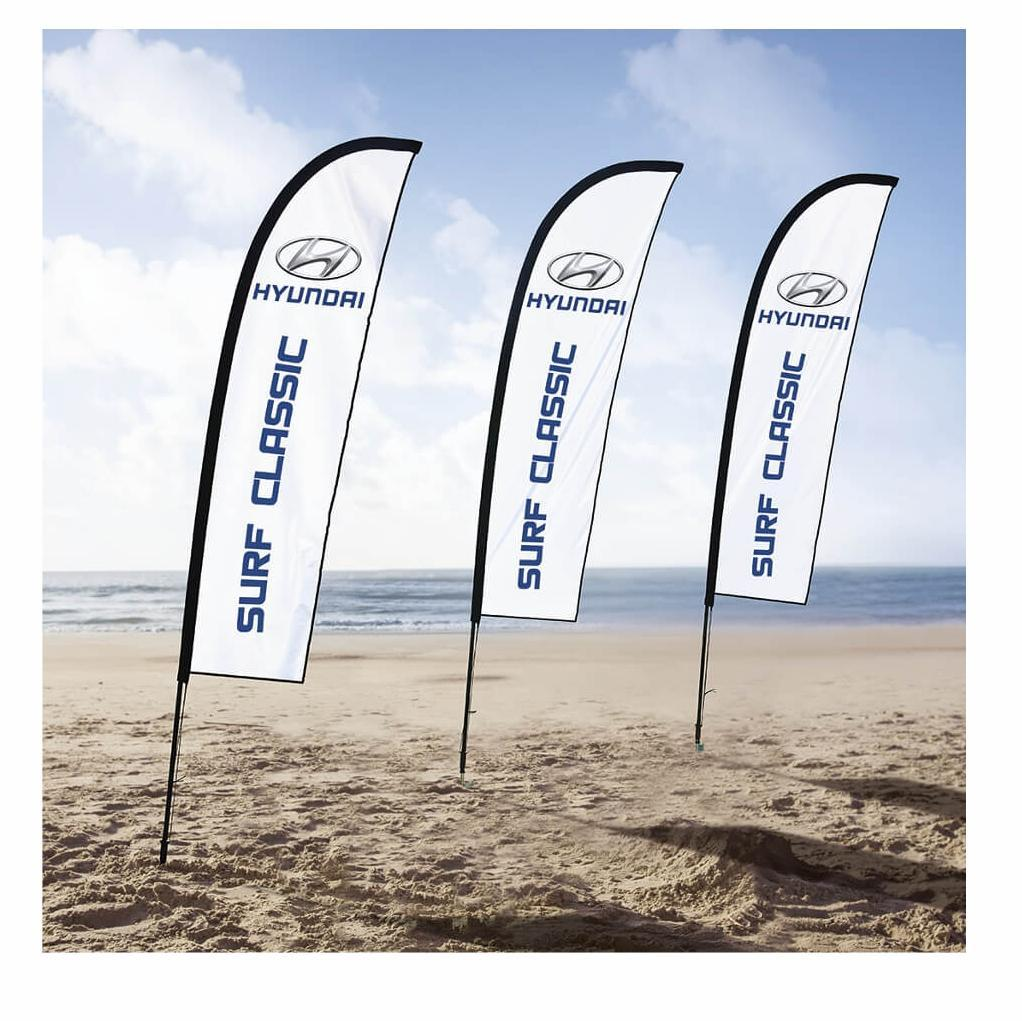 Wind Cheater Banners Econo - Aluminium - Frame