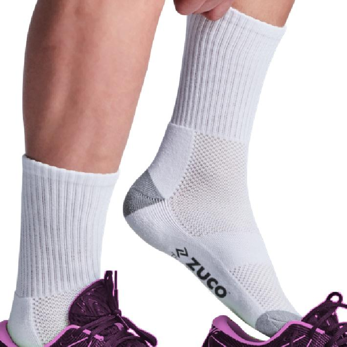 Netball Socks White