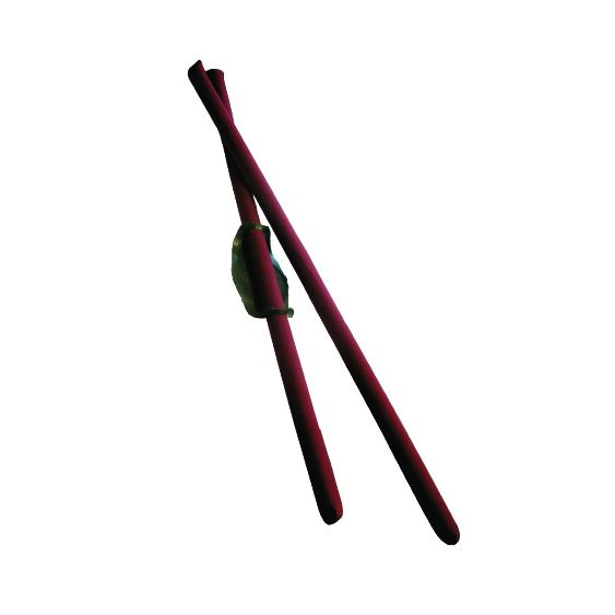 Etonga Fighting Sticks (2 Sticks + Guard)