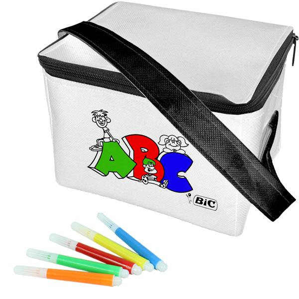 Kiddies 6 Can Colouring Cooler