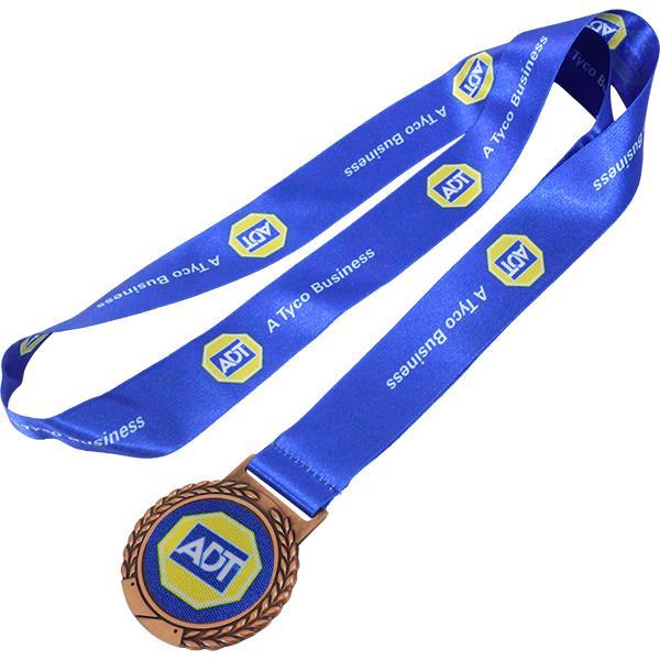 Bronze With Fc Satin Ribbon
