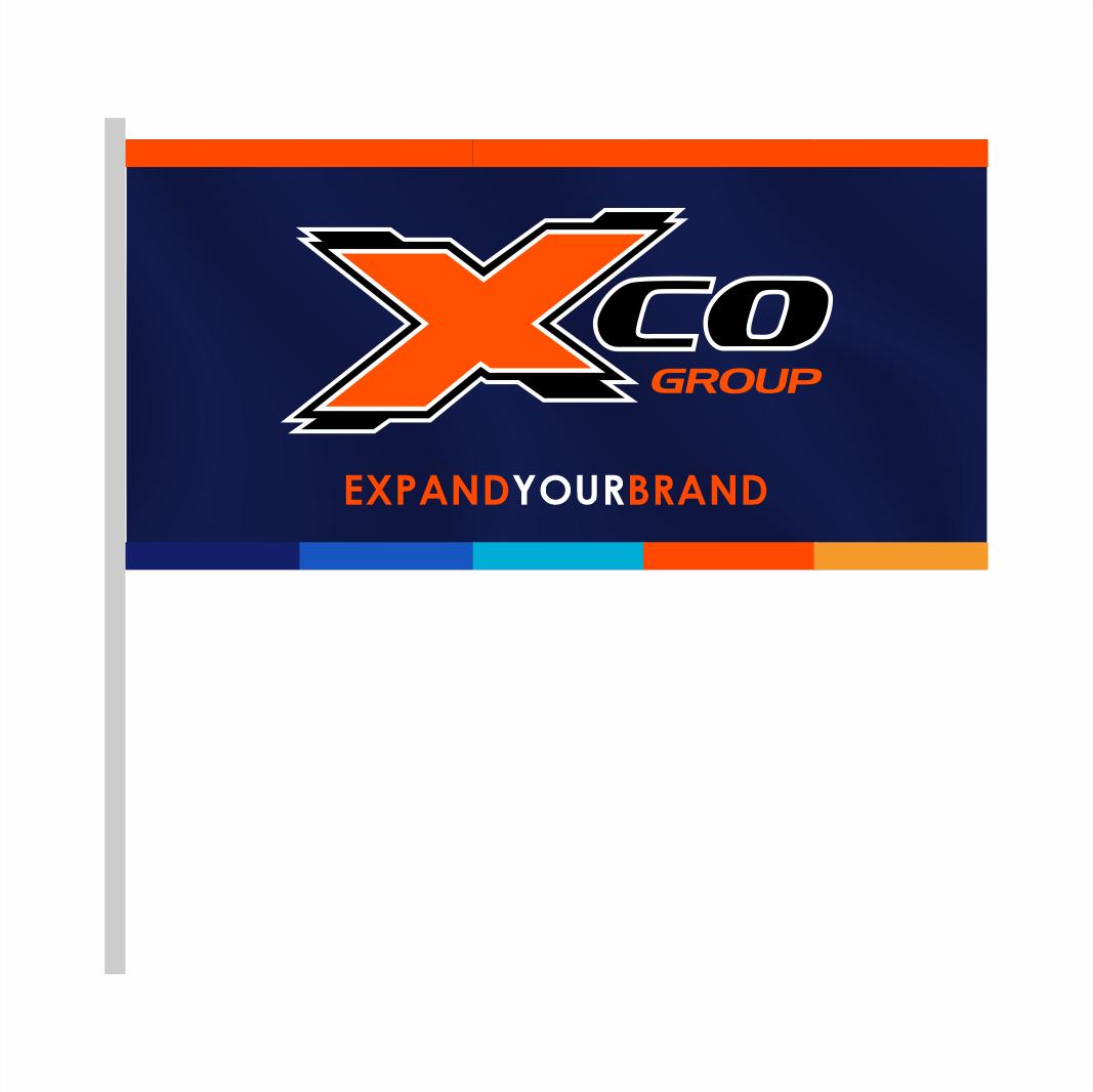 Exposure Flag 1m X 2m Micro Active