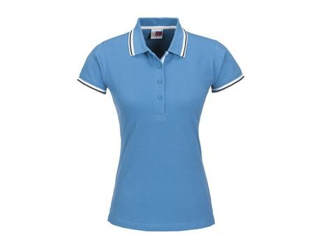 Ladies City Golf Shirt - Blue Only