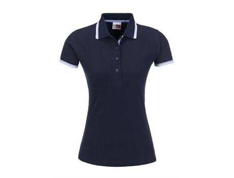 Ladies City Golf Shirt - Navy Only