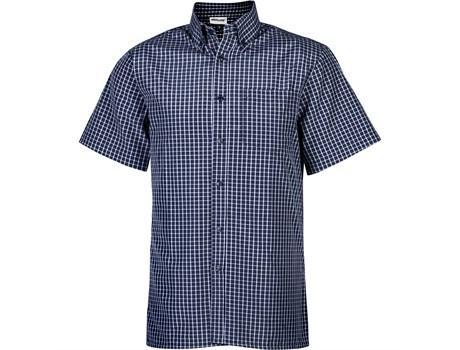 Mens Short Sleeve Prestige Shirt - Navy Only