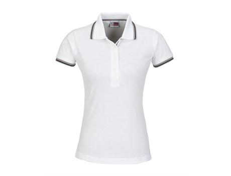 Ladies City Golf Shirt - White Only