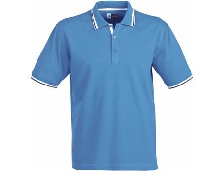 Mens City Golf Shirt - Blue Only