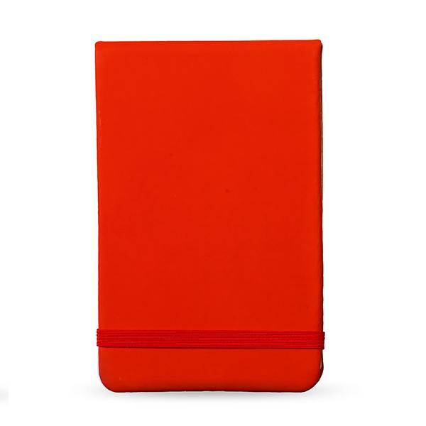 Cali Pu Notebook - Red