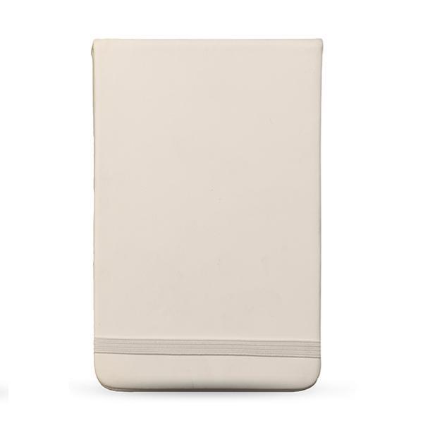Cali Pu Notebook - White