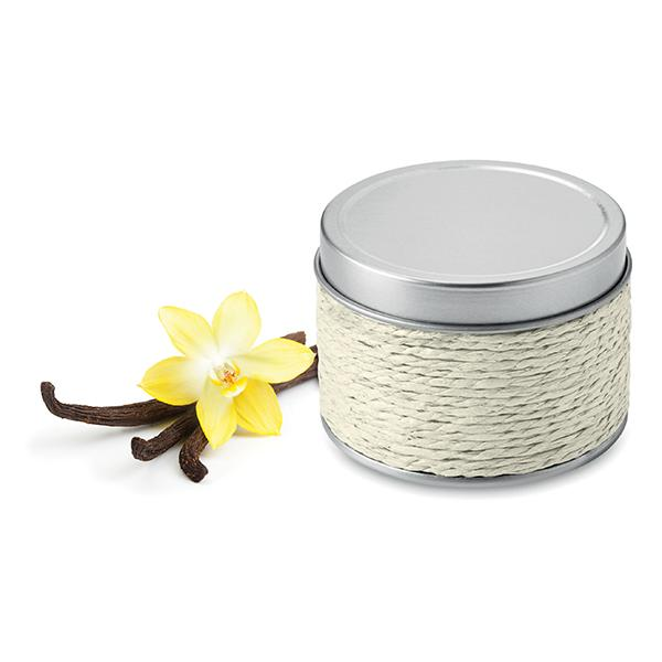Fragranced Candle In Tin - White