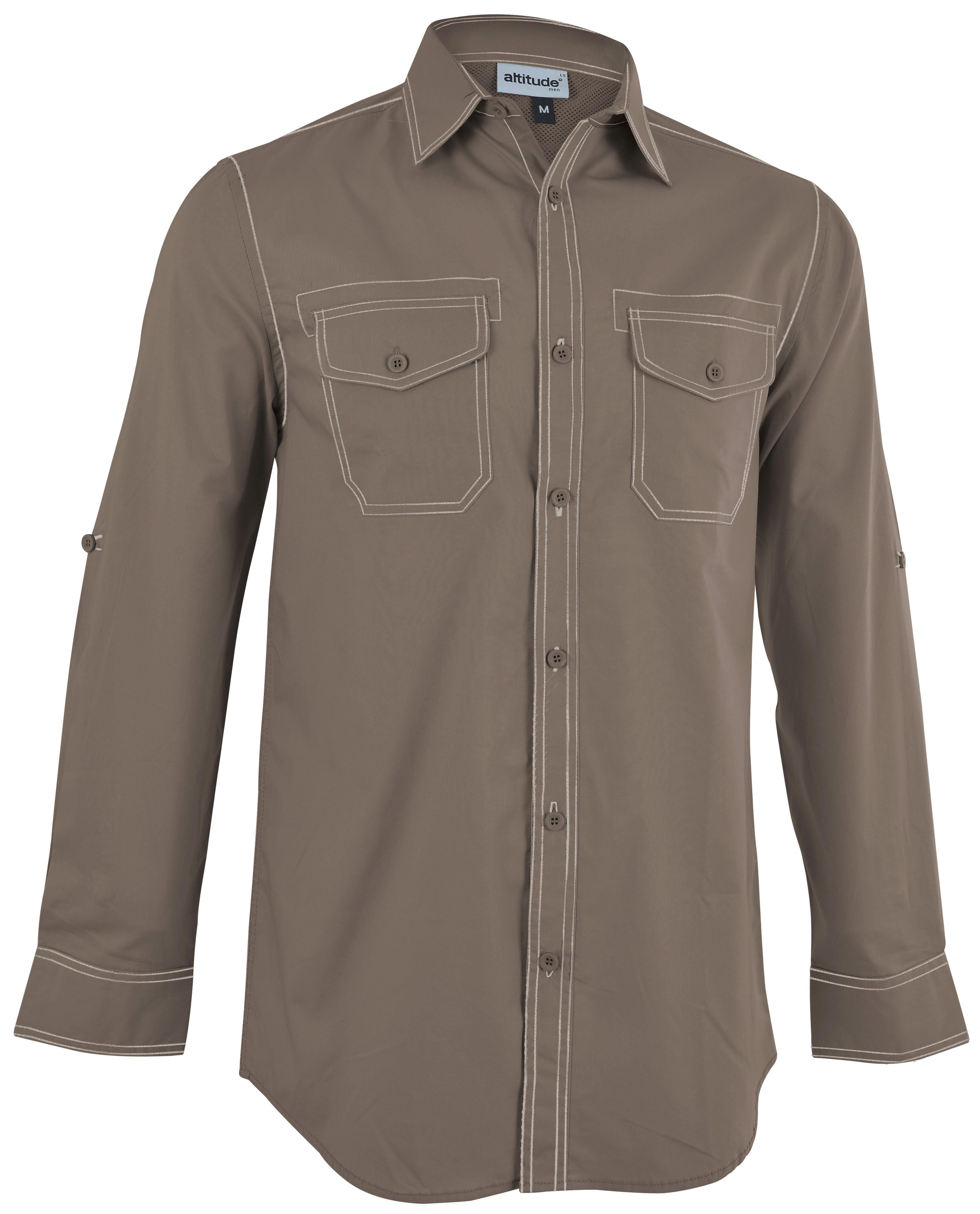 Mens Long Sleeve Inyala Shirt