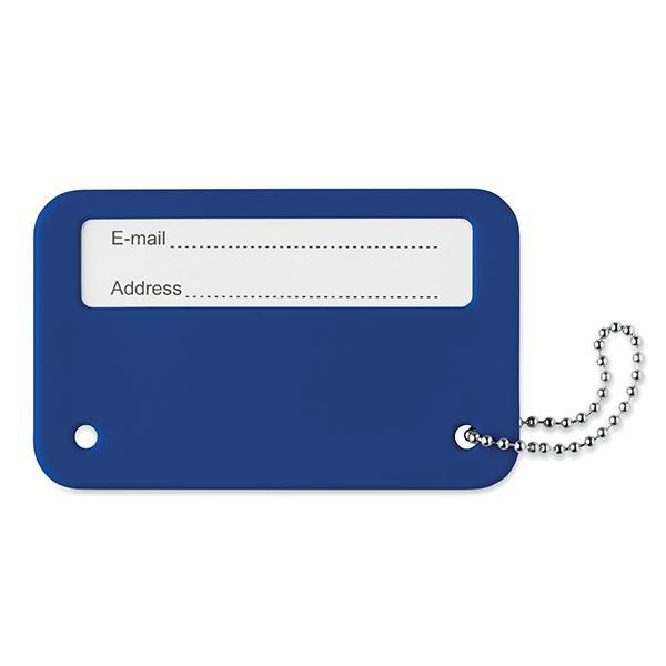 Travel Identity Tag - Royal Blue