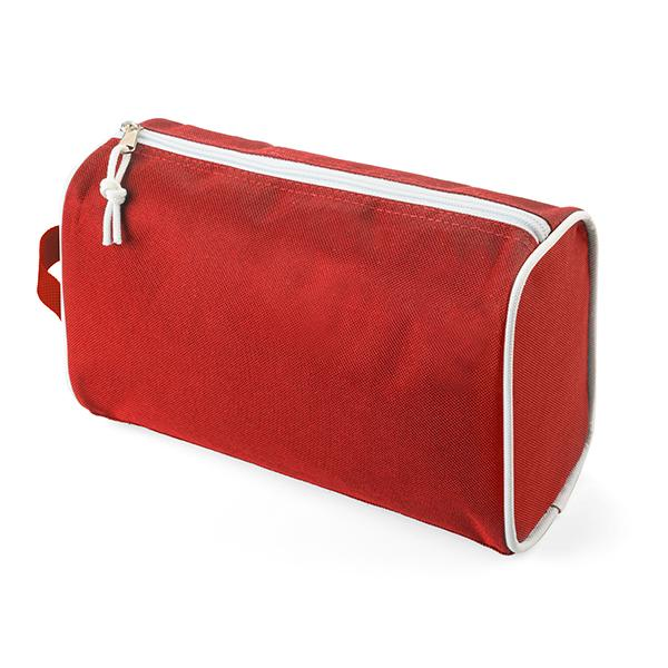 Essential Cosmetic Bag - Red