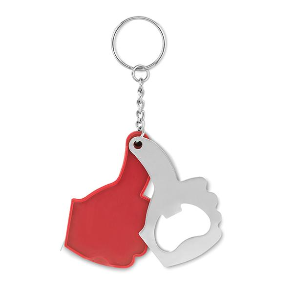 A Ok Keyring - Red