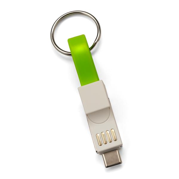 Mighty Mate Charging Cable - Lime