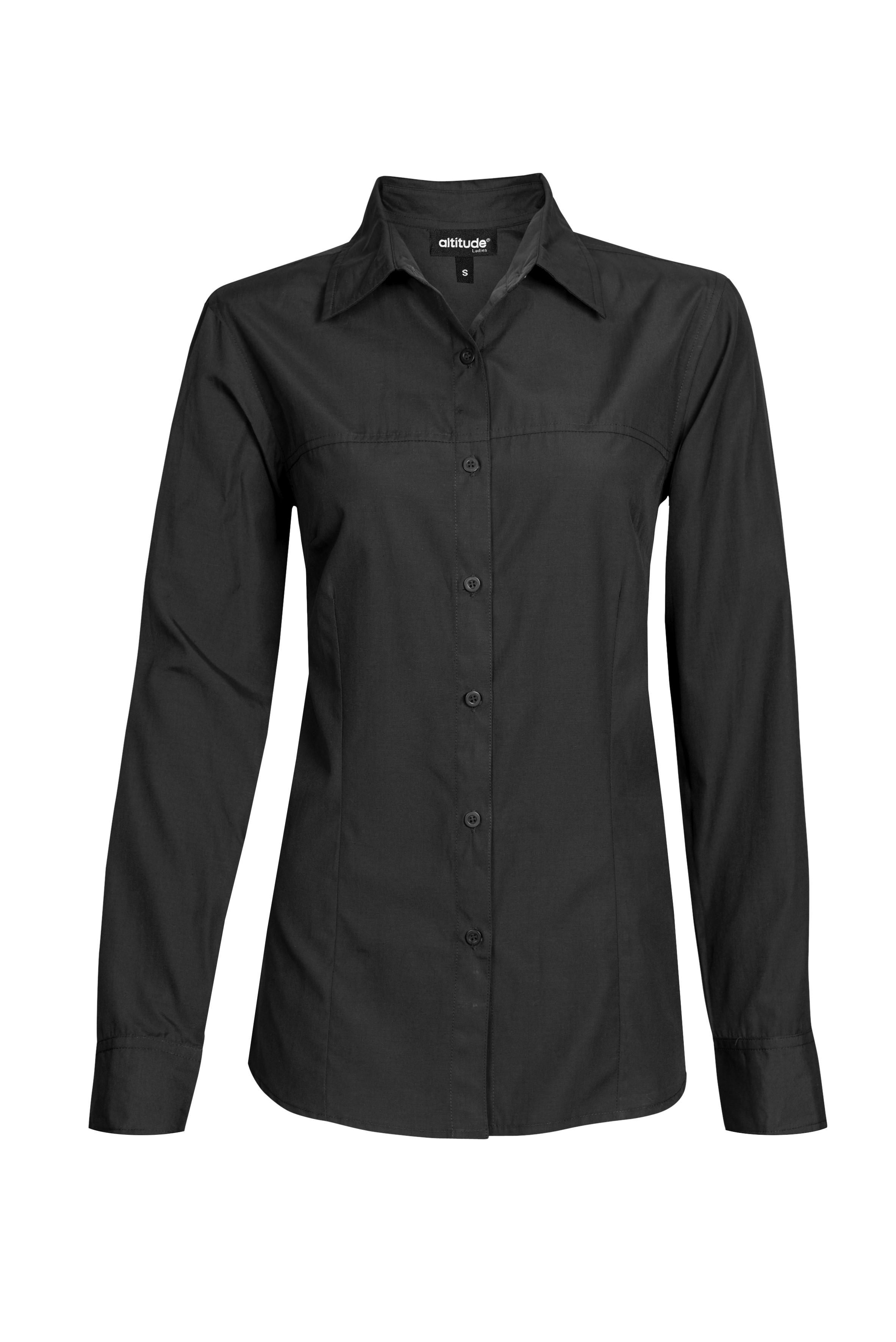 Ladies Long Sleeve Empire Shirt