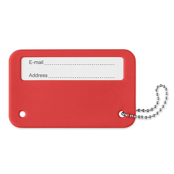 Travel Identity Tag - Red
