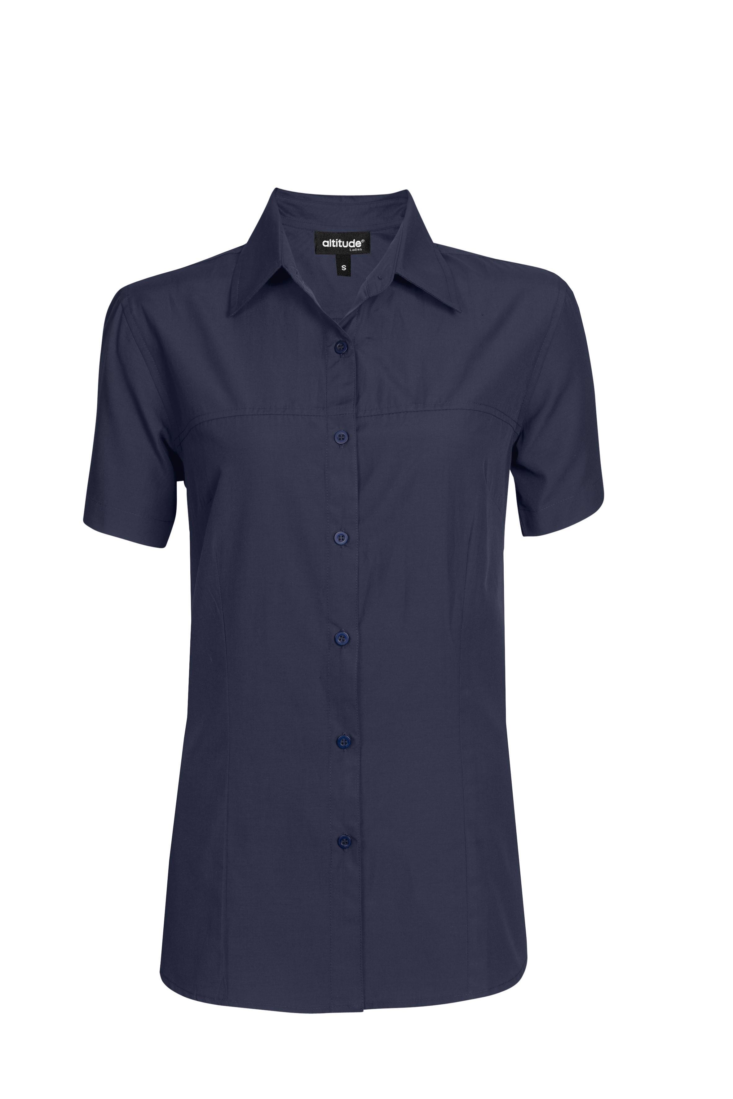 Ladies Short Sleeve Empire Shirt