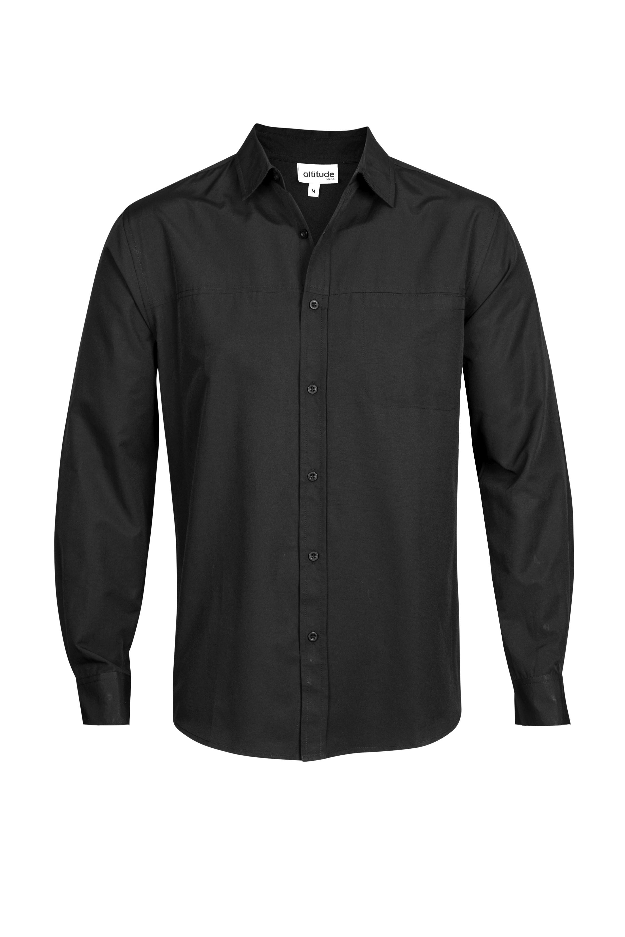 Mens Long Sleeve Empire Shirt
