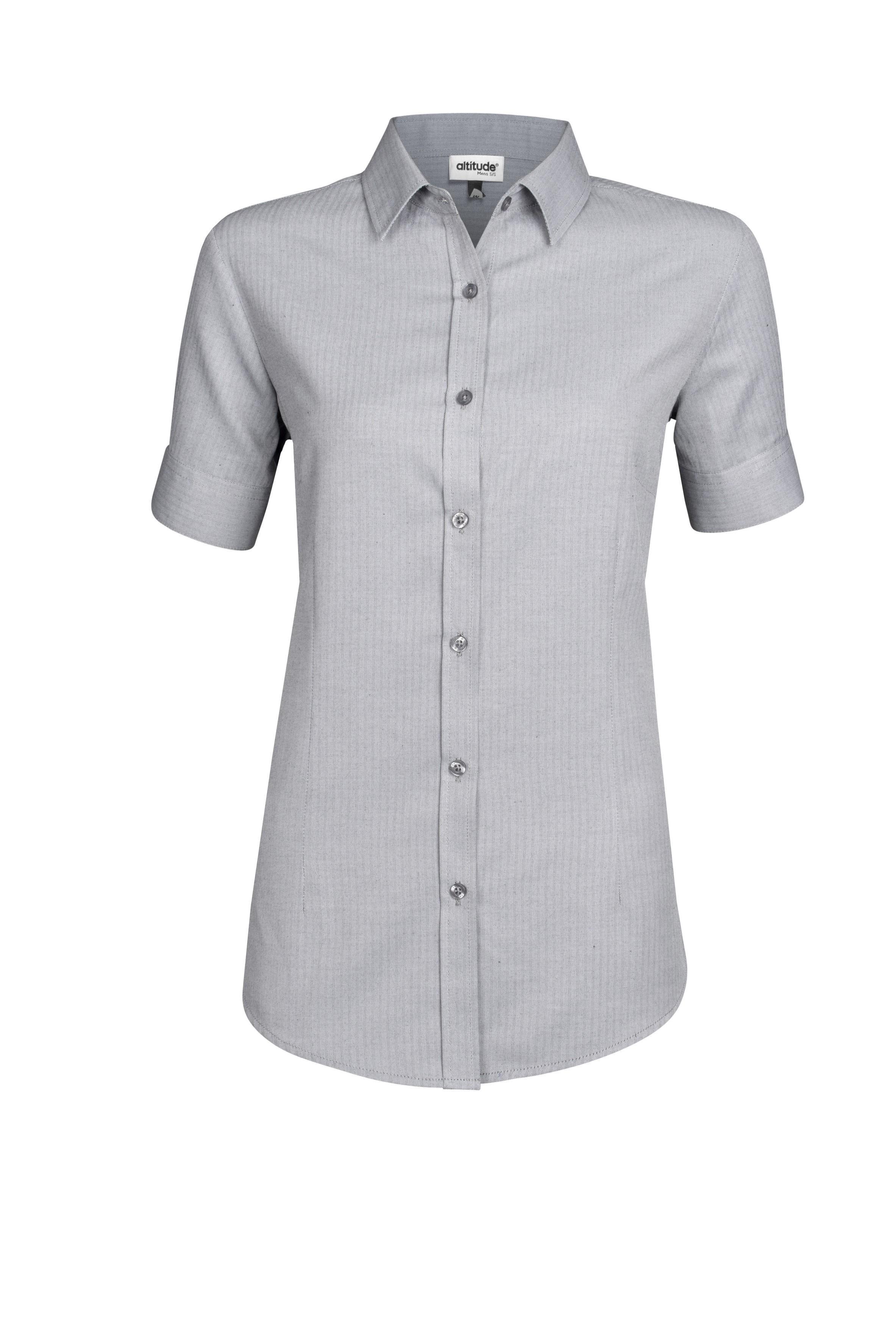 Ladies Short Sleeve Nottingham Shirt