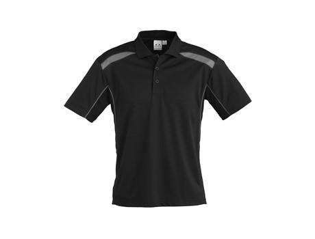Mens United Golf Shirt - Grey Only