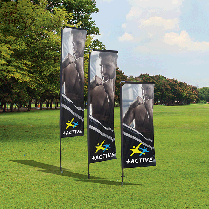Telescopic Banners Deluxe - Double Sided - Digital