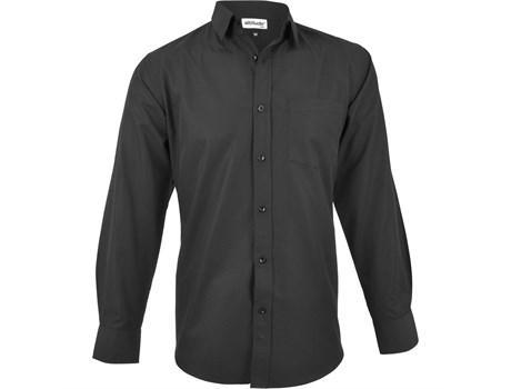 Mens Long Sleeve Catalyst Shirt - Black Only