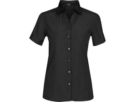 Ladies Short Sleeve Catalyst Shirt - Black Only