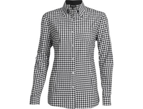 Ladies Long Sleeve Copenhagen Shirt - Black Only
