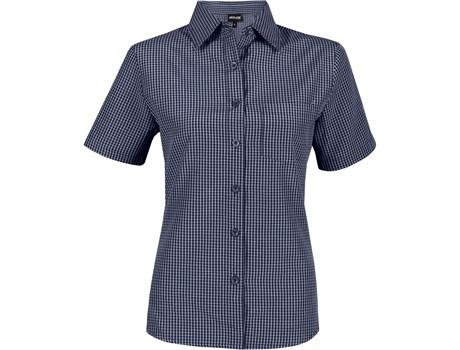 Ladies Short Sleeve Cedar Shirt - Navy Only