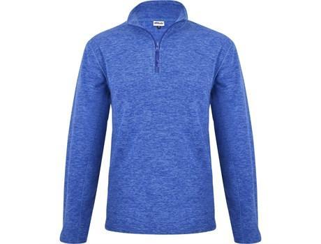 Mens Energi Micro Fleece Sweater - Blue Only