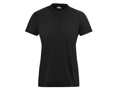 Ladies Vital 160 V-neck T-shirt - Black Only