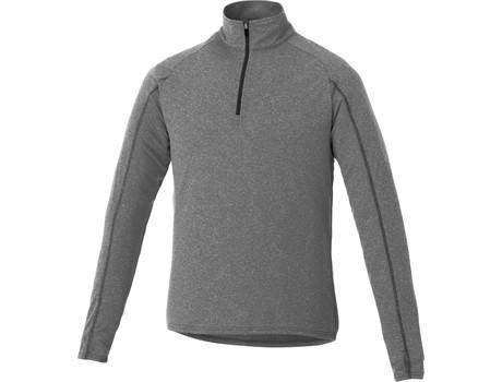 Mens Taza 1/4 Zip Sweater - Grey Only