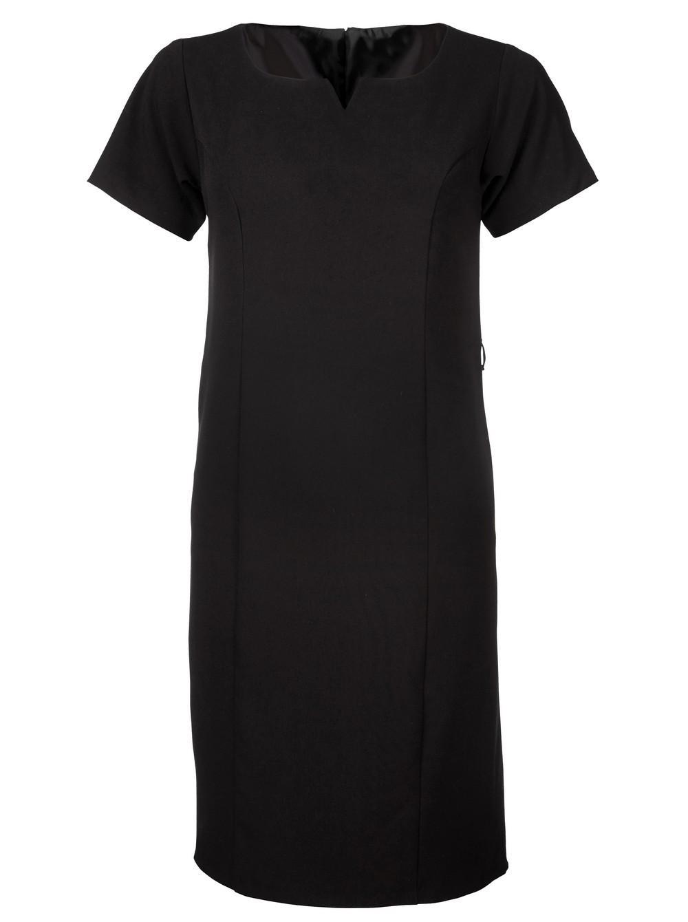Carol 599 S/s Dress - Black
