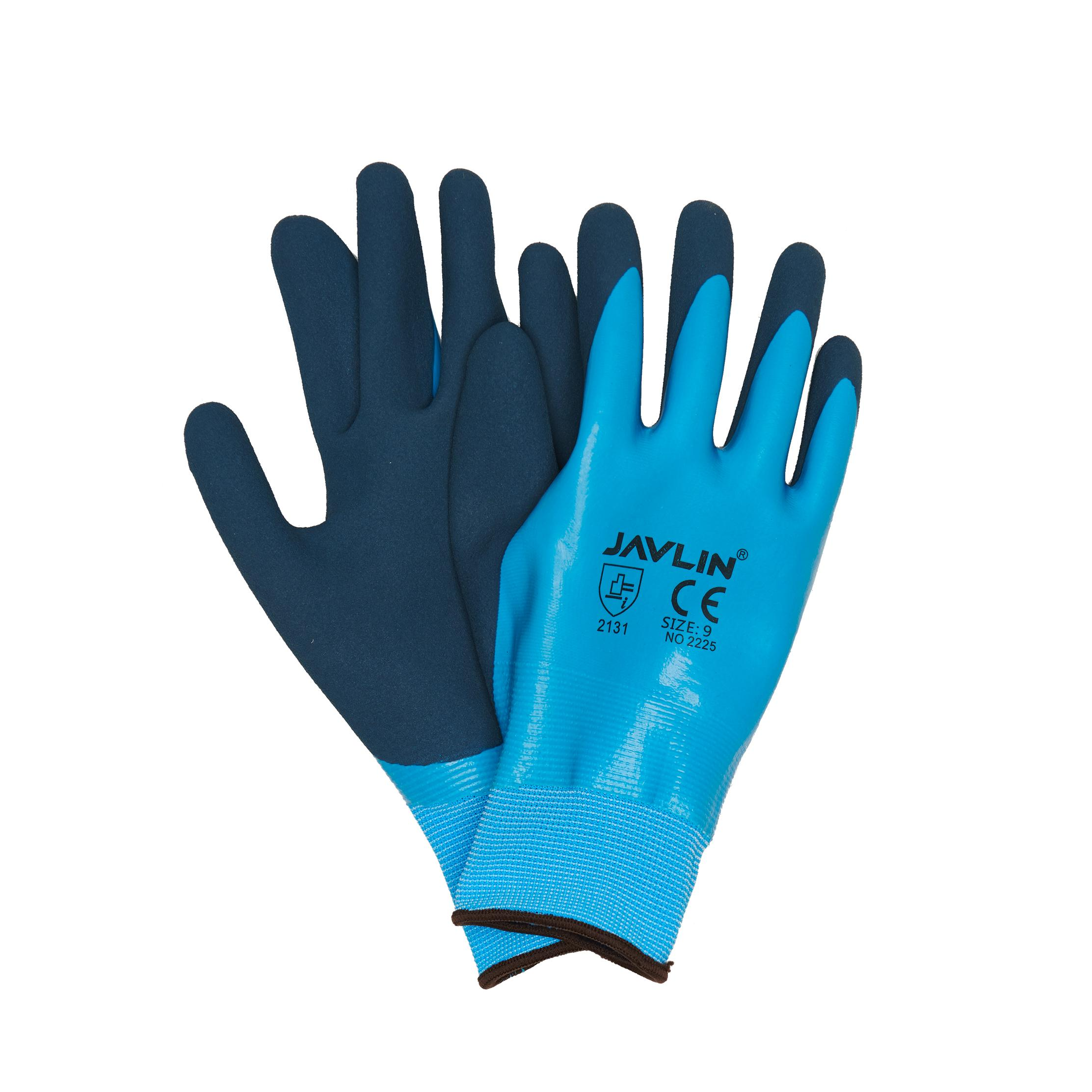 15g Seamless Liner With Double Coated Foam Latex Fully Waterproof  Sizes 7-11