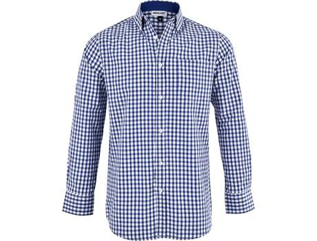 Mens Long Sleeve Copenhagen Shirt - Royal Blue Only