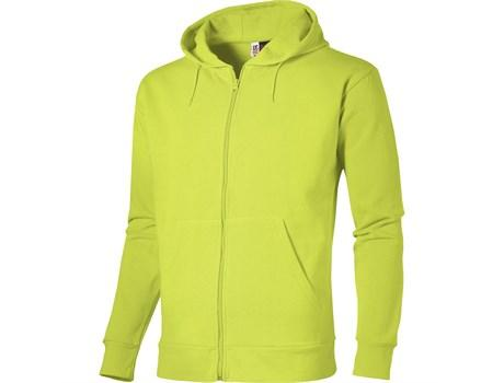 Mens Bravo Hooded Sweater - Lime Only