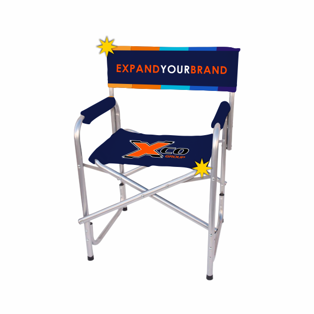 Exposure Director's Chair - Printed Seat And Back