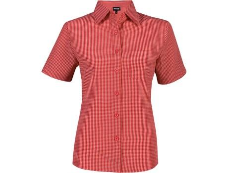 Ladies Short Sleeve Cedar Shirt - Red Only