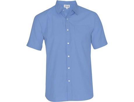 Mens Short Sleeve Catalyst Shirt - Sky Blue Only