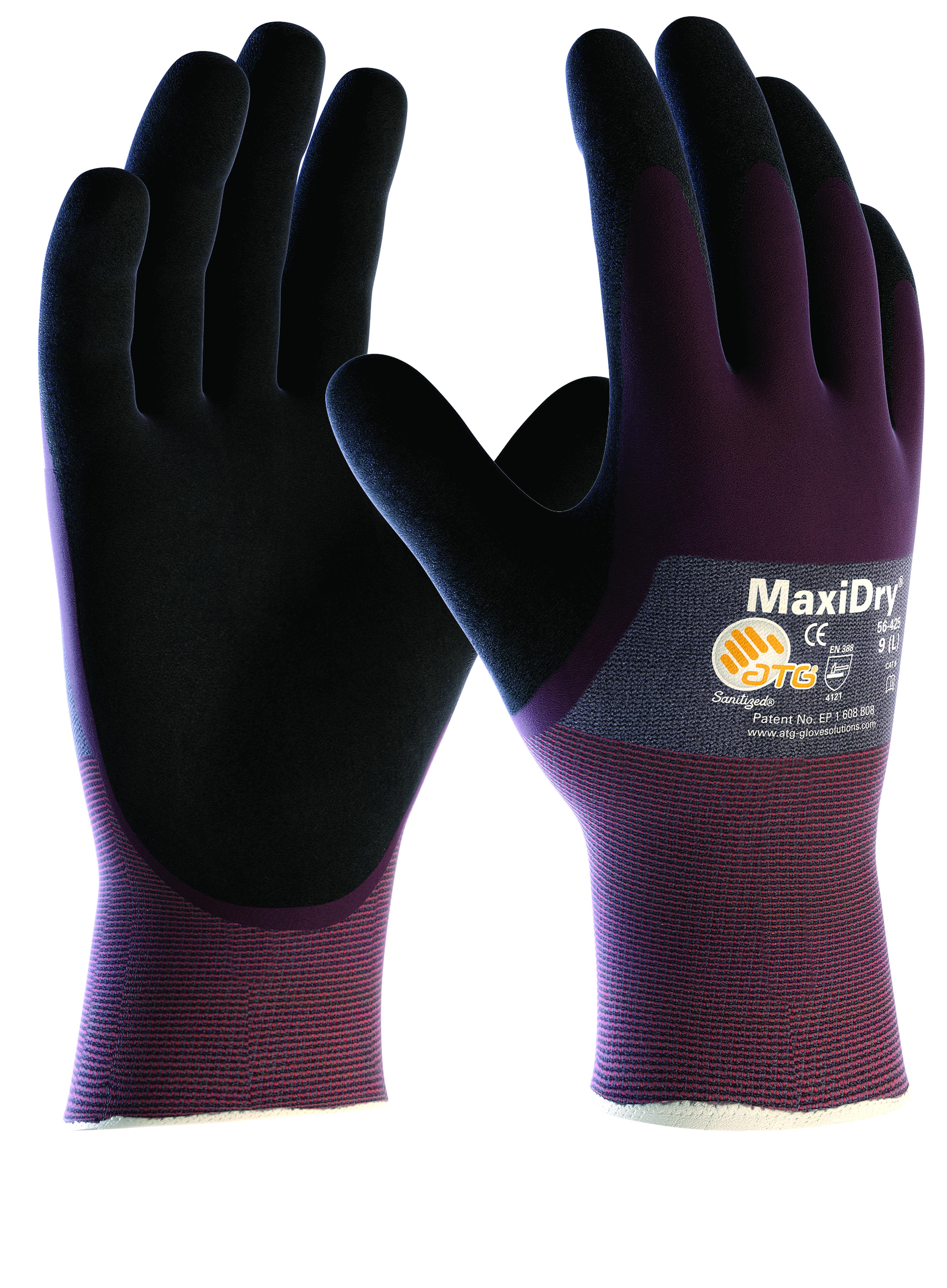 Maxidry Gp Oil Resistant Precison Handling Gloves Ref 56-425