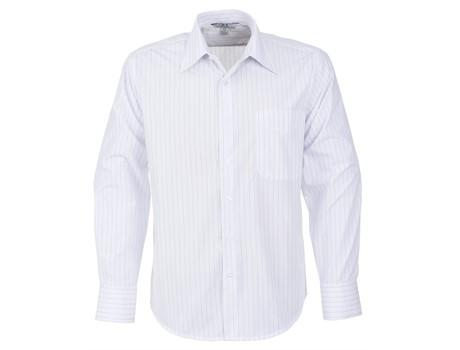 Mens Long Sleeve Manhattan Striped Shirt - Wbl Only