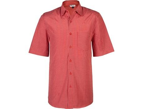 Mens Short Sleeve Cedar Shirt - Red Only