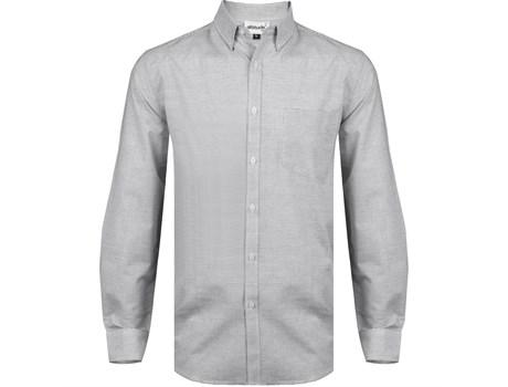 Mens Long Sleeve Earl Shirt - Grey Only