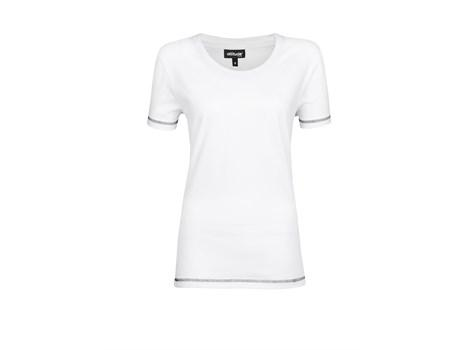 Ladies Velocity T-shirt -white Only
